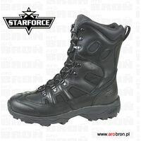Buty taktyczne wojskowe thunderstorm czarne skóra, Starforce