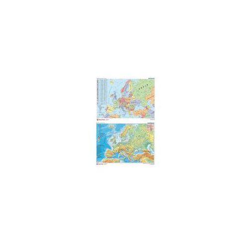 Podklad dwustronny z mapą europy panta bpz marki Panta plast