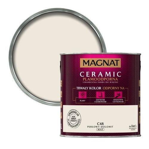 Farba Magnat Ceramic perłowy dolomit 2,5 l