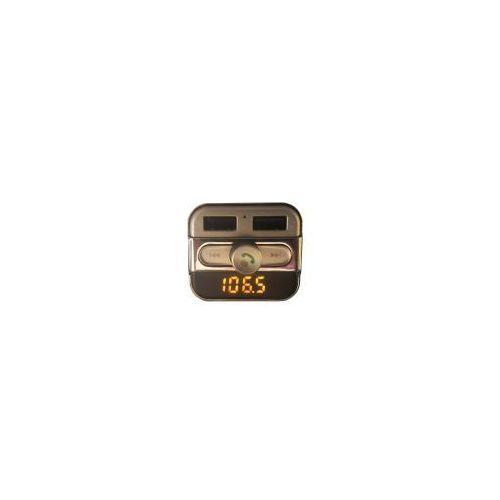 Transmiter FM Peiying URZ0463 Bluetooth z ładowarką USB 3,4A