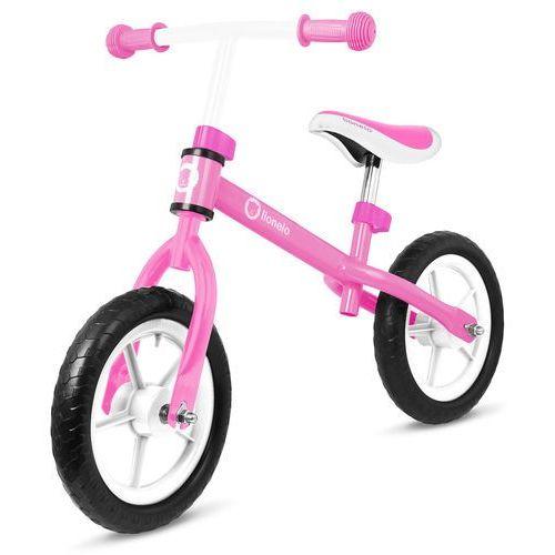 Rowerek biegowy LIONELO Lo-fin Pink + MNIEJ KASY! Miksuj prezenty i zyskaj nawet 5% rabatu! + Zamów z DOSTAWĄ JUTRO! + Zagwarantuj sobie dostawę przed Świętami!