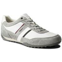 Sneakersy GEOX - U Wells C U52T5C 02211 C1303 Lt Grey/White