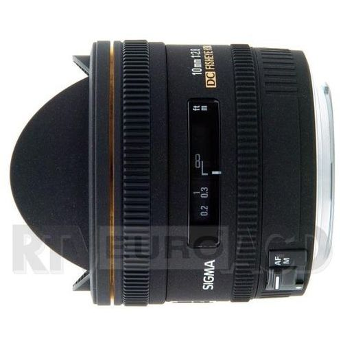 Sigma  af 10/2,8 ex dc fisheye hsm canon - produkt w magazynie - szybka wysyłka!, kategoria: obiektywy fotograficzne
