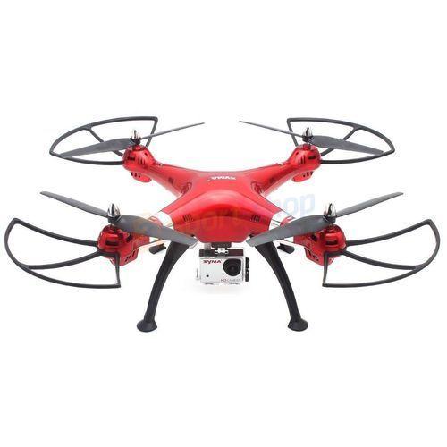 Dron x8hg quadcopter (czerwony) marki Syma