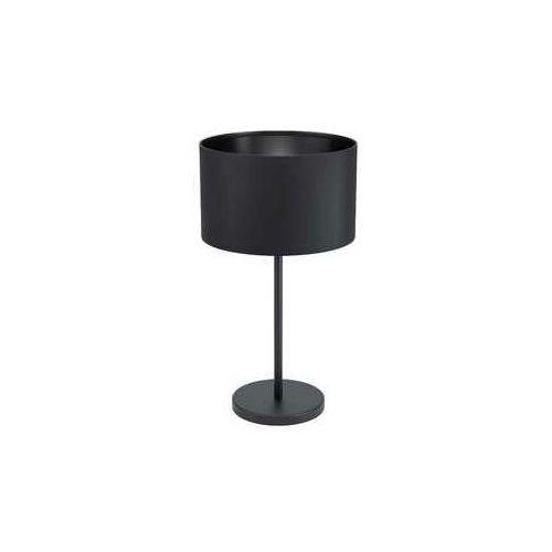 maserlo 1 99045 lampa stołowa lampka 1x40w e27 czarna marki Eglo