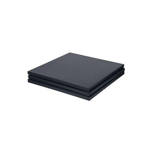 Woood zestaw półek do szafy vt-wonen czarne 390908-zw