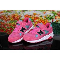 Buty 580 dziecięce różowe/niebieskie/czarne/białe marki New balance