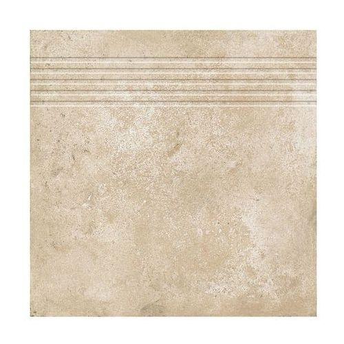 Stopnica corte bezowy 33 x 33 marki Ceramika gres