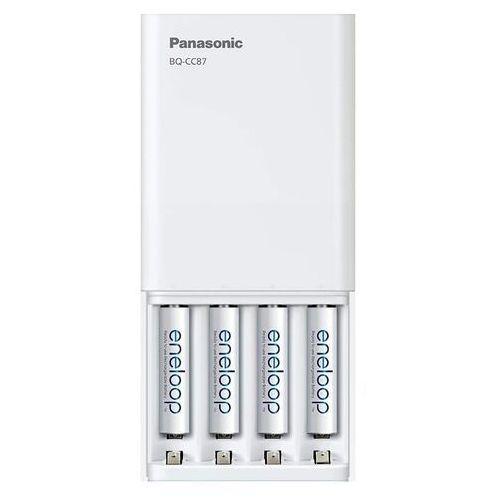 Panasonic Ładowarka eneloop bq-cc87 + aa (4 sztuki)