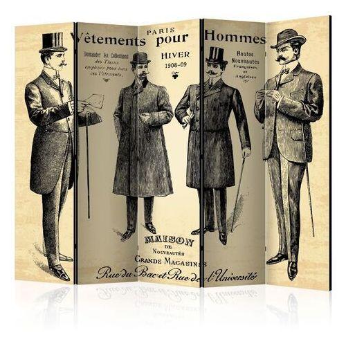 Parawan 5-częściowy - vêtements pour homme ii [room dividers]