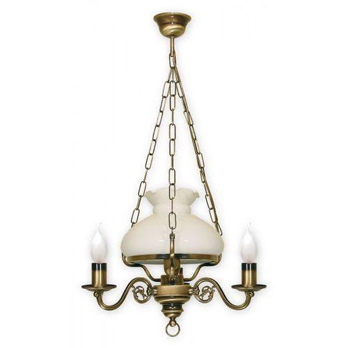 Alladyn lampa wisząca 4-punktowa świeczka 013/w4 marki Lemir