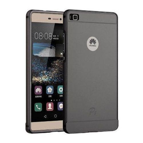 Mirror Bumper Metal Case Szary | Etui dla Huawei P8 Lite, kup u jednego z partnerów