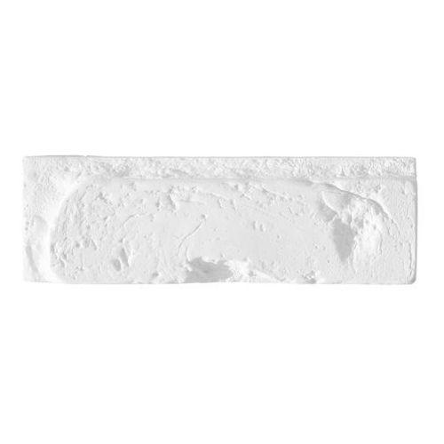 Cegła dekoracyjna Tonala z fugą biała 0,43 m2, K-TON-BI-043-G