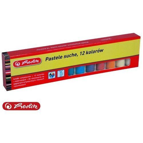 Kredki pastele suche 12 kolorów dla dzieci HERLITZ