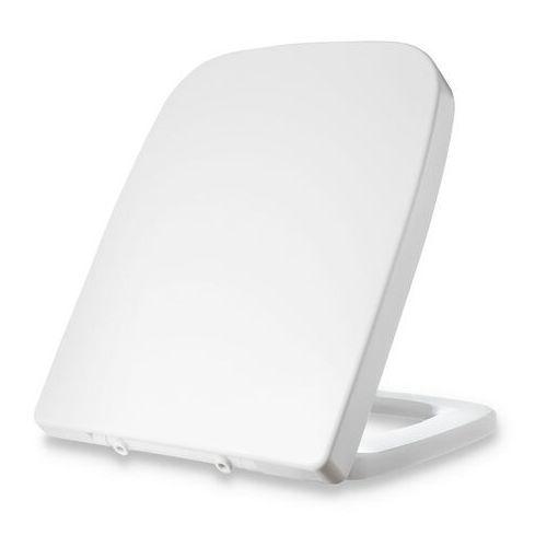 Dombach lamera, deska sedesowa, kształt prostokątny, wolnoopadająca, antybakteryjna, biała
