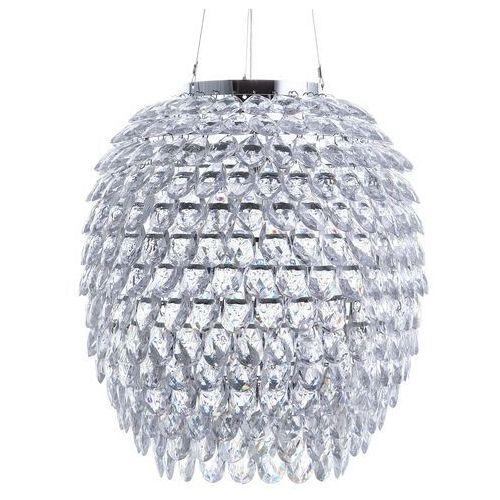 Lampa wisząca chrom/kryształ SAUER