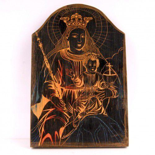 OKAZJA - Zibi zbigniew bednarczyk Praca w drewnie matka boska kalwaryjska (pacławska)