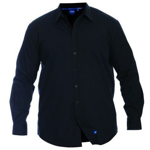 Corbin d555 duża koszula męska czarna marki Duke