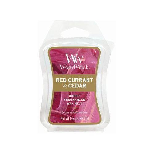- wosk zapachowy artisan - red currant & cedar 10h marki Woodwick