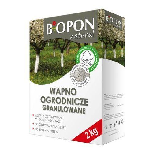 Biopon Wapno ogrodnicze granulat 2 kg (5904517225190)