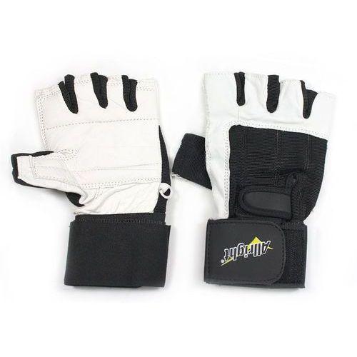 Rękawice kulturystyczne skóra Allright (2010000259993)
