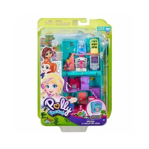Zestaw figurek polly pocket pollyville arcade marki Mattel