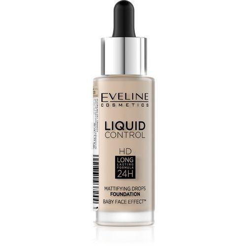 Eveline kolorowka Eveline liquid control hd podkład do twarzy z dropperem nr 010 light beige 32ml (5901761937244)