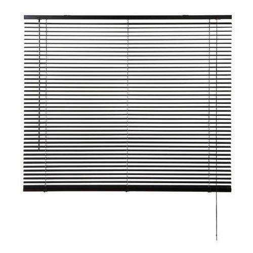 Żaluzja aluminiowa Colours Studio 120 x 180 cm czarna, VVBA416