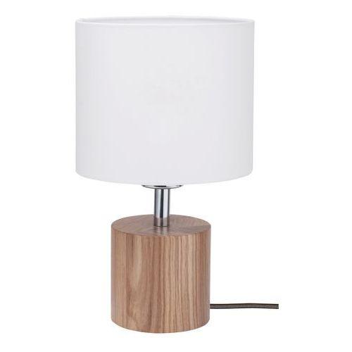 trongo lampa stołowa dąb/antracyt/biały 1xe27-60w 7081170 marki Spot-light