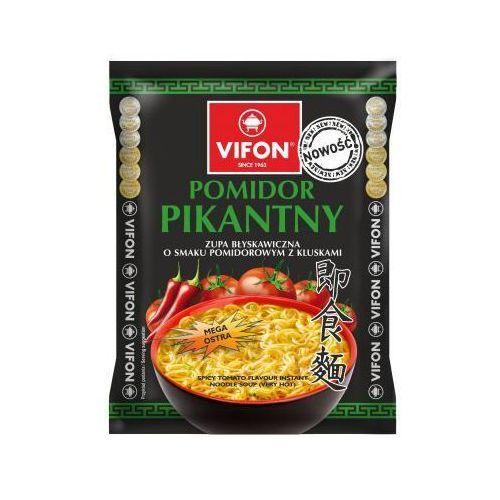 Zupa błyskawiczna Pomidor Pikantny o smaku pomidorowym z kluskami 70 g Vifon (5901882014930)