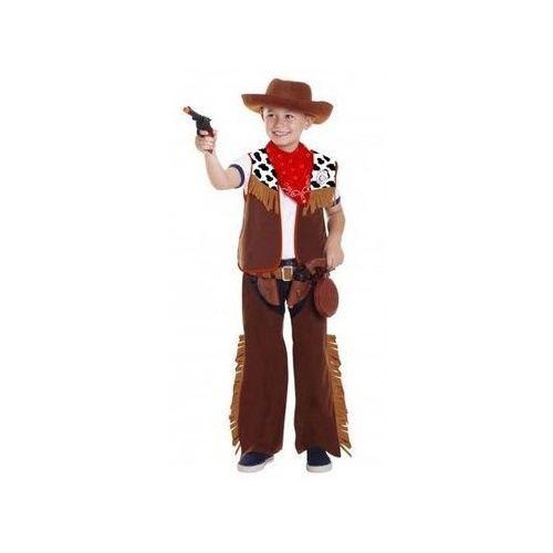 Kostium Kowboj + odznaka, 2 kabury, 2 pistolety, bidon