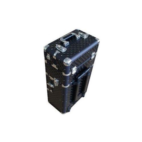 Kuferek Kosmetyczny Trolley TC009 BLACK 3D
