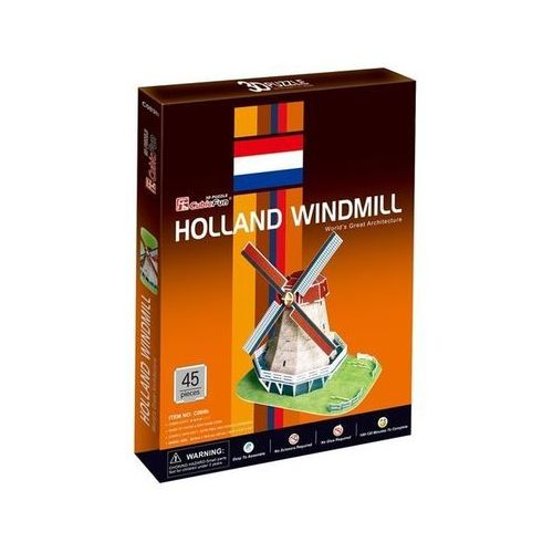 Cubic Fun, puzzle 3D Holland Windmill, 5_509461