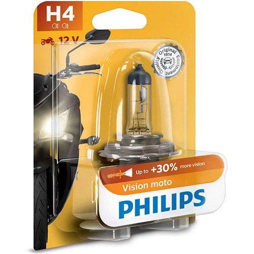 Philips® Żarówka motocyklowa h4 vision moto | blister 1szt.