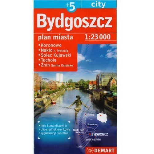 Plan miasta - Bydgoszcz plus 5 (1:23 000) (2012)