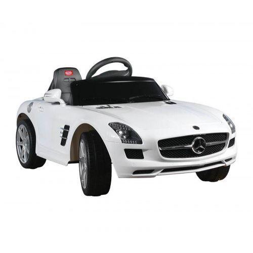 Samochód Mercedes SLS AMG + Pilot White - produkt z kategorii- Pojazdy elektryczne