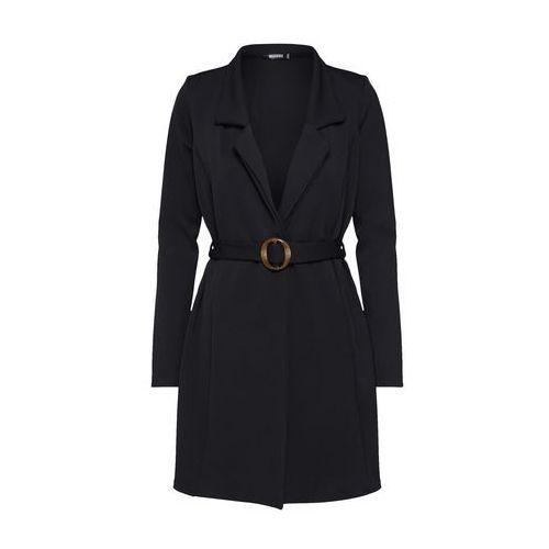 sukienka 'long sleeve belted blazer dress-tortoise' czarny marki Missguided