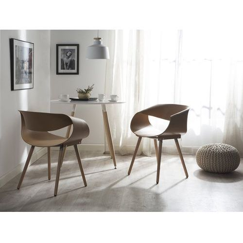 Krzesło do jadalni piaskowe CHARLOTTE