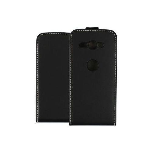 Sony Xperia XZ2 Compact - etui na telefon Forcell Slim Flexi - czarny, kolor czarny