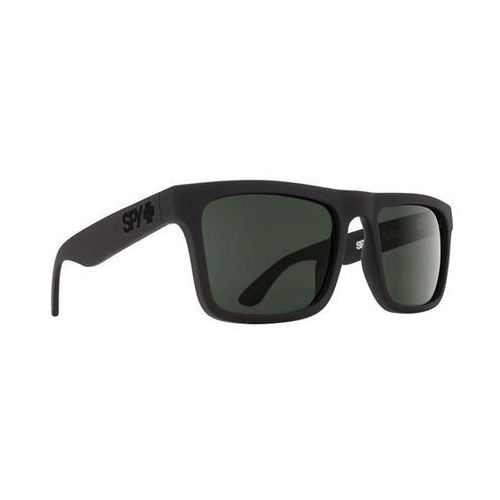 Okulary słoneczne atlas polarized atlas matte black - happy glass gray polar marki Spy