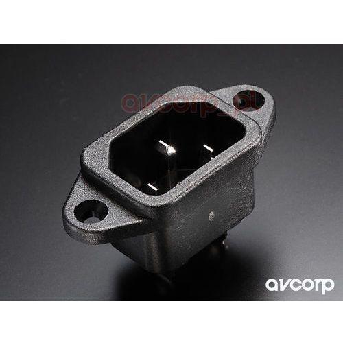Furutech ac-inlet (r) - gniazdo montażowe iec - rodowana (4582237530254)