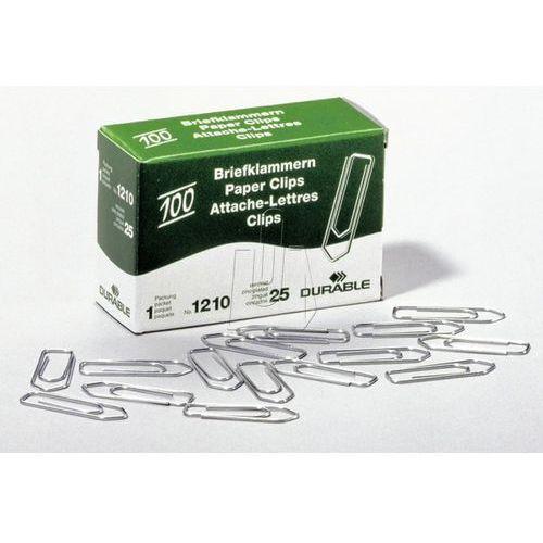 Spinacze Durable średnie 32mm ocynkowane 100 sztuk 1210-25 (4005546102061)