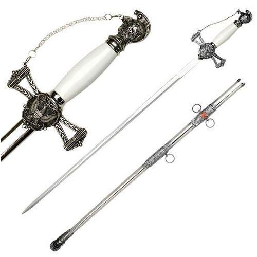 Ozdobny miecz ceremonialny z pochwą marki Usa