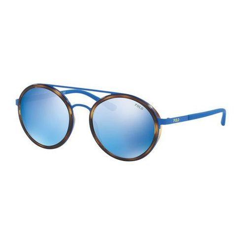 Polo ralph lauren Okulary słoneczne ph3103 color-blocking 931855