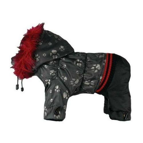 kombinezon z21 dla psa czarny paw końcówka kolekcji marki Grande finale