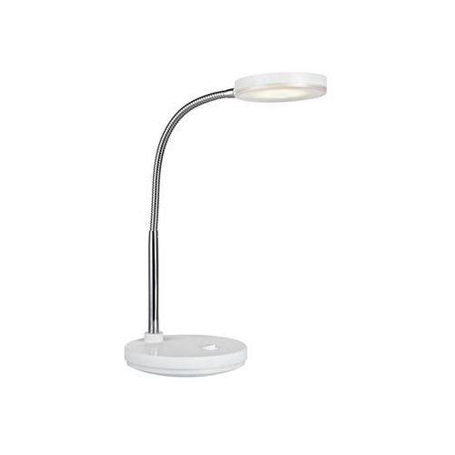 Lampa biurkowa FLEX Biały/Chrom 106466 - Markslojd - Rabat w koszyku Negocjuj cenę online! / Rabat dla zalogowanych klientów / Darmowa dostawa od 300 zł / Zamów przez telefon 530 482 072, 106466