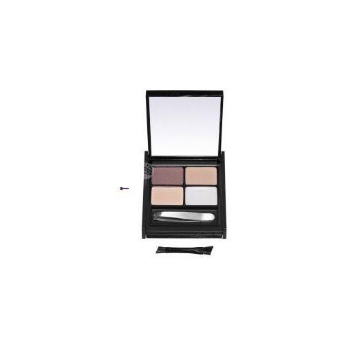 pro-brow ultimate eyebrow kit (w) zestaw do stylizacji brwi fair/mid 5,9g marki Mua