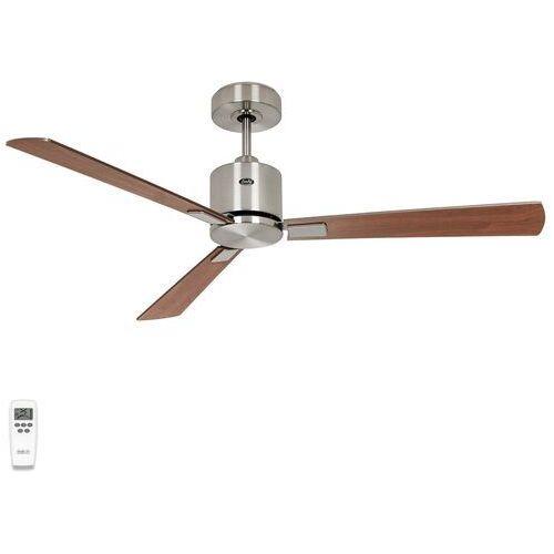 Wentylator sufitowy Eco Concept 132cm chrom/drewno