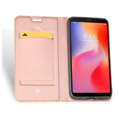 Etui Skin Pro DuxDucis do Xiaomi Redmi 6 różowo-złote