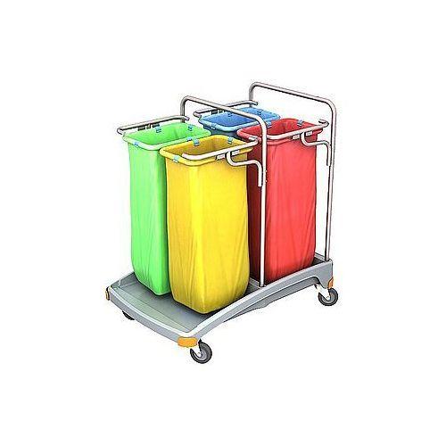Wózek na odpady z tworzywa sztucznego tso-0021 marki Splast
